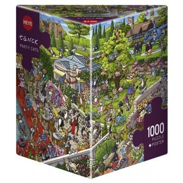 Puzzle - Party Cats de Tanck - 1000 Pièces