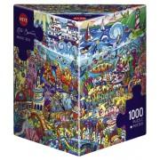 Puzzle - Magic Sea de Rita Berman - 1000 Pièces