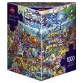 Puzzle - Magic Sea de Rita Berman - 1000 Pièces 0