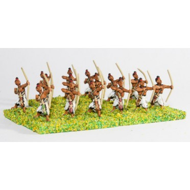 Classical Indian: Foot Archers