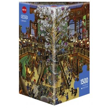 Puzzle - Library de Oesterle - 1500 Pièces