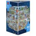 Puzzle - Spaceship de Mattias Adolfsson - 1500 Pièces 0