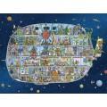 Puzzle - Spaceship de Mattias Adolfsson - 1500 Pièces 1