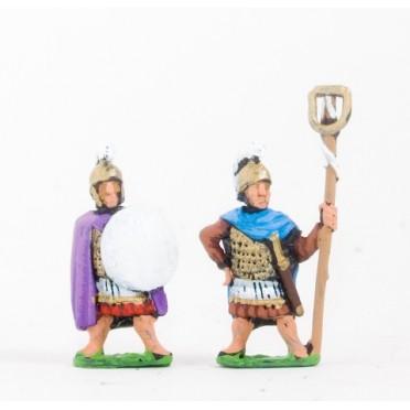 Carthaginian: Command: Officers & Standard Bearers