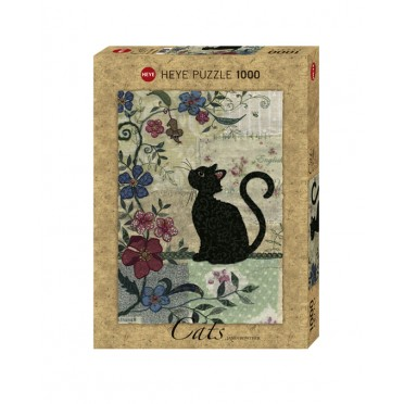 Puzzle - Cat & Mouse de Jane Crowther - 1000 Pièces