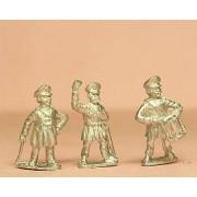 Prussian 1814-15: Command: Landwehr Officer, Drummer, Standardd Bearer