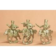Prussian 1814-15: Command: Hussar Officer, Standard Bearer & Trumpeter