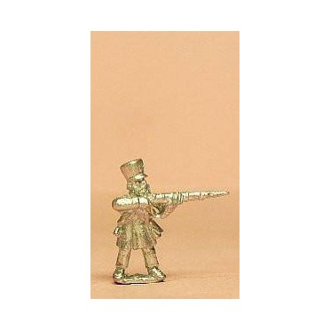 Prussian 1814-15: Landwehr Musketer in Shako firing
