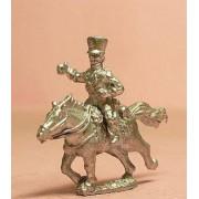 Prussian 1814-15: Landwehr Lancer in Long Coat and Shako