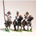 Cavalry: Dragoon Officer, Standard Bearer & Drummer 0