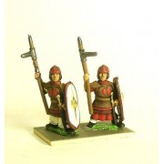 Northern & Southern Dynasties Chinese: Heavy Infantry, Leather Armour with Daggeraxe