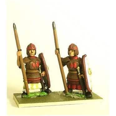 Northern & Southern Dynasties Chinese: Heavy Infantry, Leather Armour with Spear