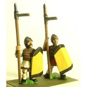 Northern & Southern Dynasties Chinese: Heavy Infantry with Lamellar Armour & Daggeraxe