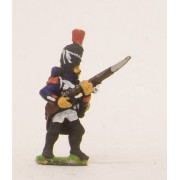 French: Old Guard: in Full dress, advancing with Musket at 45 degrees