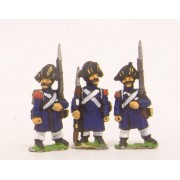 French: Old Guard or Chasseur: in Greatcoat & Chapeau, in assorted poses
