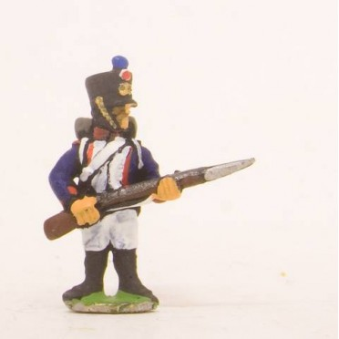 French: Line Fusilier with Musket forward