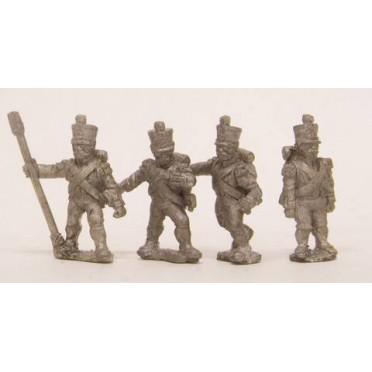 French: Foot Artillerymen