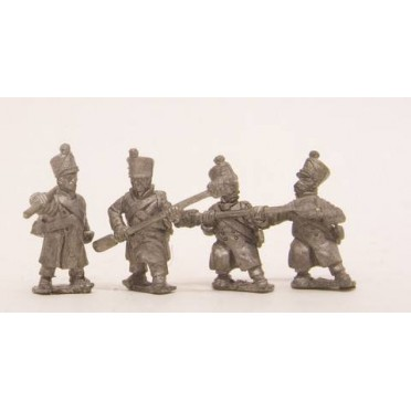 French: Foot Artillerymen in Greatcoat