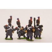 French: Footguard Artillery in Greatcoat & Bearskin