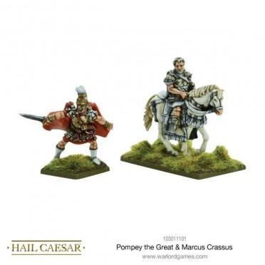 Hail Caesar - Pompey the Great & Marcus Crassus