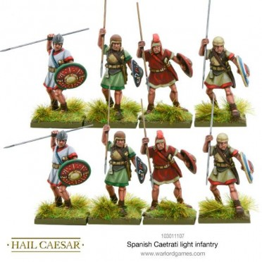 Hail Caesar - Spanish Caetrati light Infantry