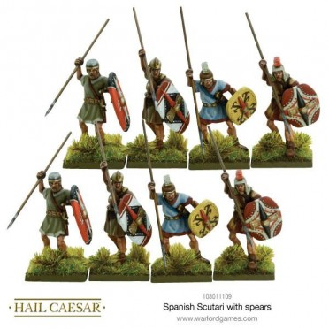 Hail Caesar - Spanish Scutari with Spears