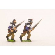 French: Middle Guard 1806-1814: Fusiliers Grenadiers, in Campaign dress, advancing