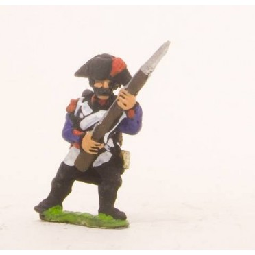 French: Line Infantry 1793-1806: Grenadier in Bicorne, advancing with Musket at 45 degreesFrench: Young Guard 1809-1815:
