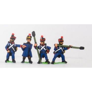 French: Artillerymen 1806-1812, in Shako
