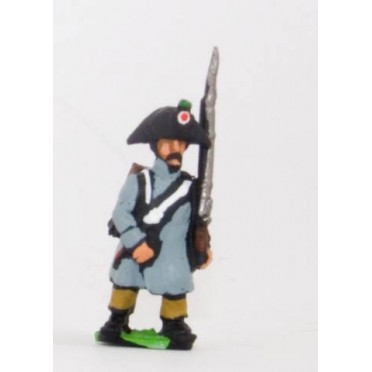 French: Line Infantry 1806-1812: in Greatcoat & Bicorne
