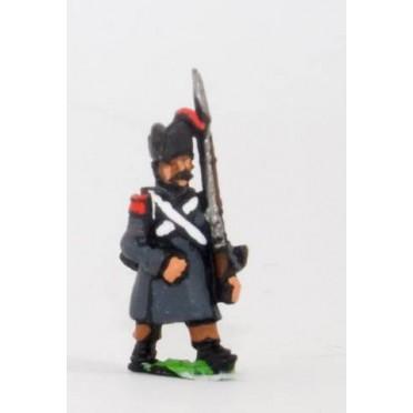French: Line Infantry 1806-1812: Grenadier in Greatcoat & Bicorne