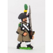 French: Line Infantry 1806-1812: Voltigeur in Greatcoat & Bicorne