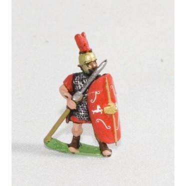 Camillan Roman: Legionary with pilum & shield