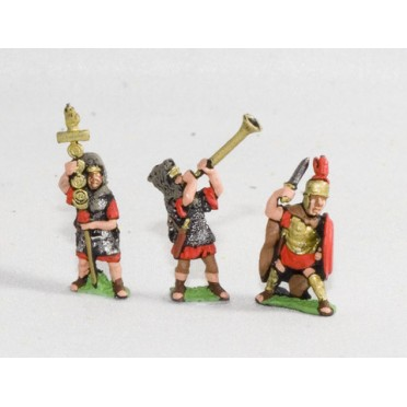 Camillan Roman: Command: Foot officers, Standard Bearers & Musicians