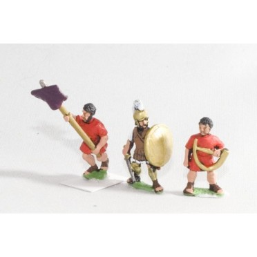 Early Republican Roman: Command: Officers, Standard Bearers & Musicians
