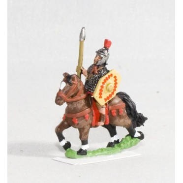 Early Imperial Roman: Equites Singulares or Praetorian Heavy Cavalry with javelin & shield
