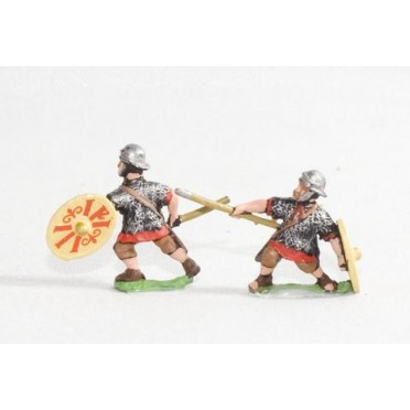Early Imperial Roman: Auxiliary Light Heavy Infantry with javelin & shield