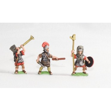 Early Imperial Roman: Command: Officers, Signifers & Musicians