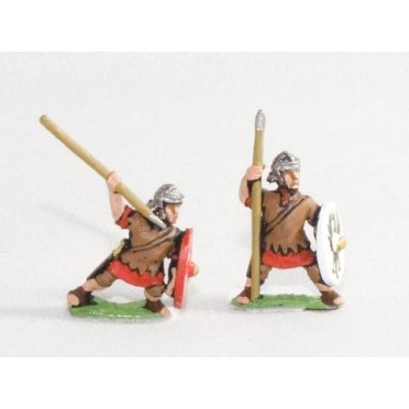 Middle Imperial Roman: Assorted Auxiliary Infantry with javelin & shield