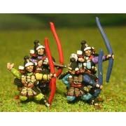 Samurai: Bowmen, firing/loading