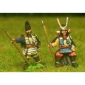 Samurai: General, seated with bodyguard 0