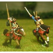 Samurai: Mounted General with Bodyguard