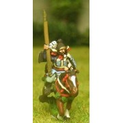 Samurai: Mounted Bodyguard with Naginata