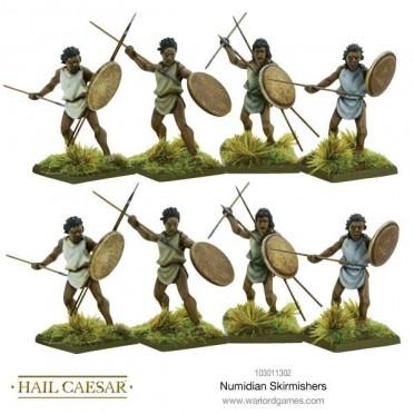 Hail Caesar- Numidian Skirmishers