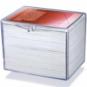 Hinged Clear Box - For 150 Cards