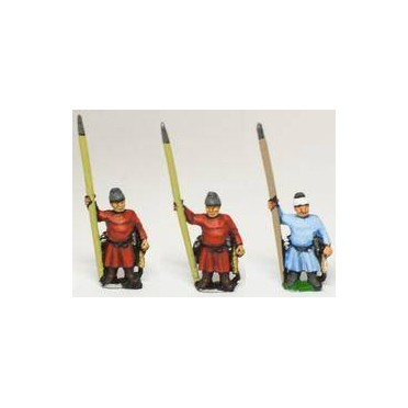 Tang & Sui Chinese: Sui or Tang Pikemen (variants)