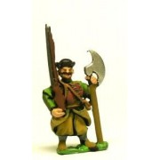 16-17th Century Polish: Musketeer with 2 Handed Axe, with shouldered Musket pas cher