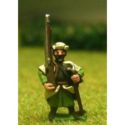 16-17th Century Polish: Musketeer with Rest & shouldered Musket pas cher