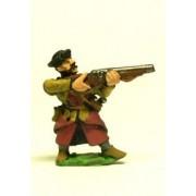 16-17th Century Polish: Arquebusier, firing pas cher