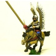 16-17th Century Polish: 2 Winged Hussar with Lance pas cher